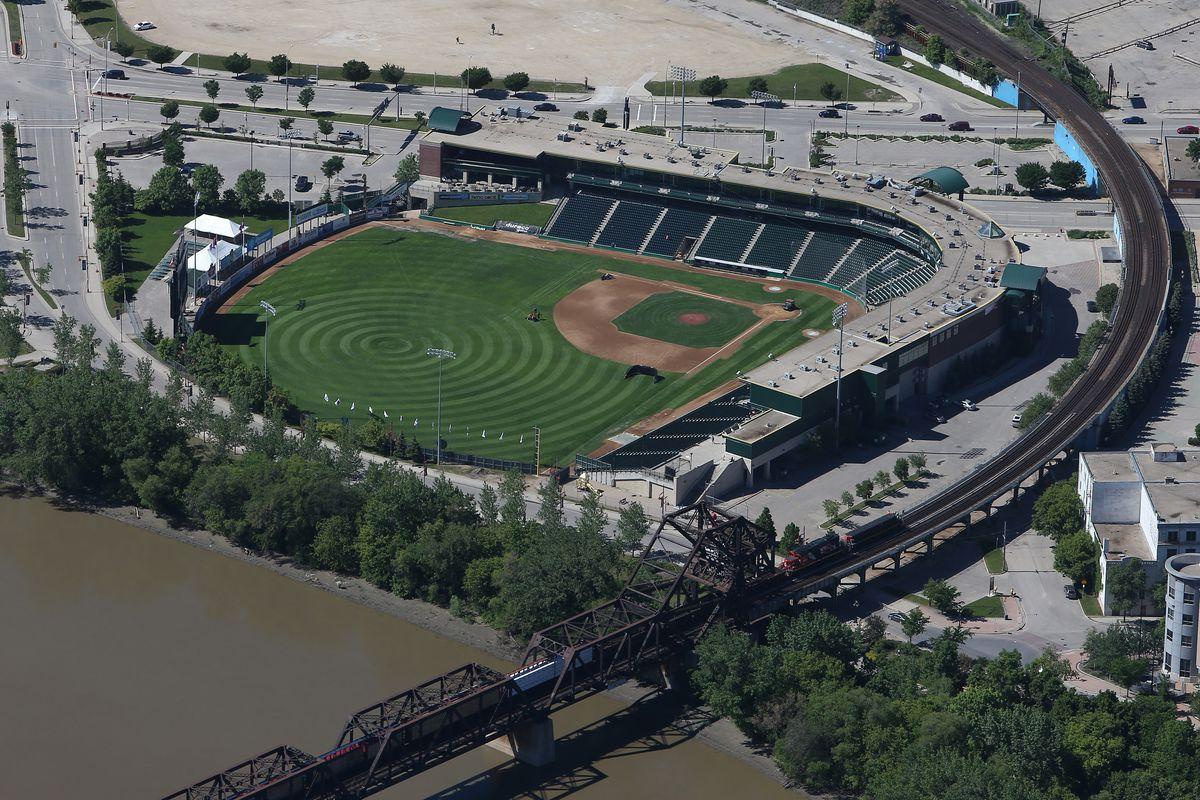 Aerial Views Of Winnipeg