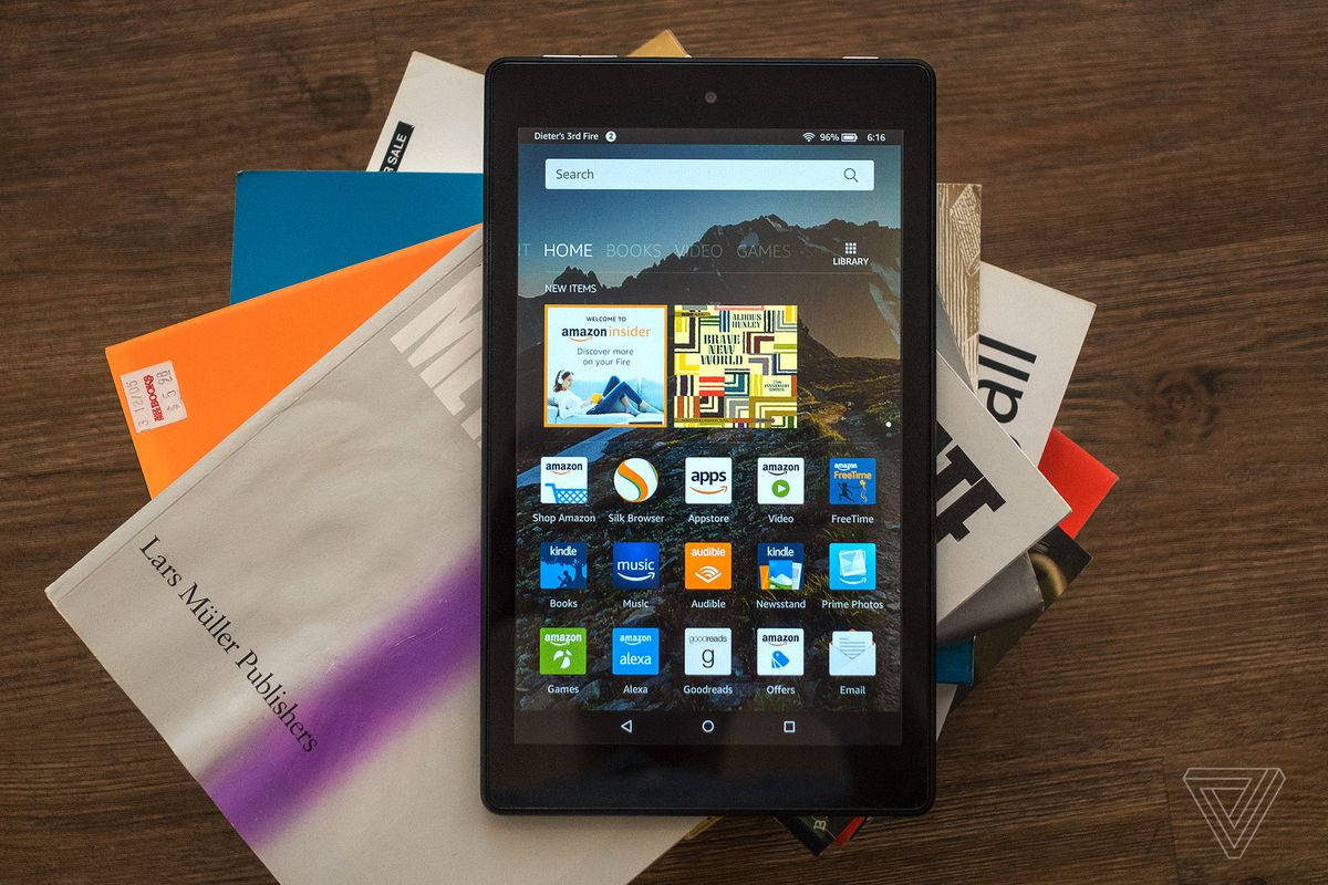 Amazon's Fire HD 8 tablet is $59 today