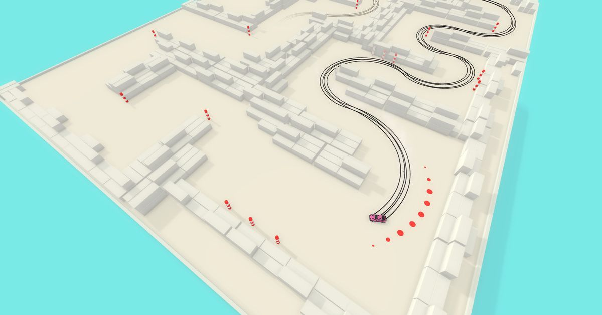 Absolute Drift, by Art of Rally makers, is free on GOG.com