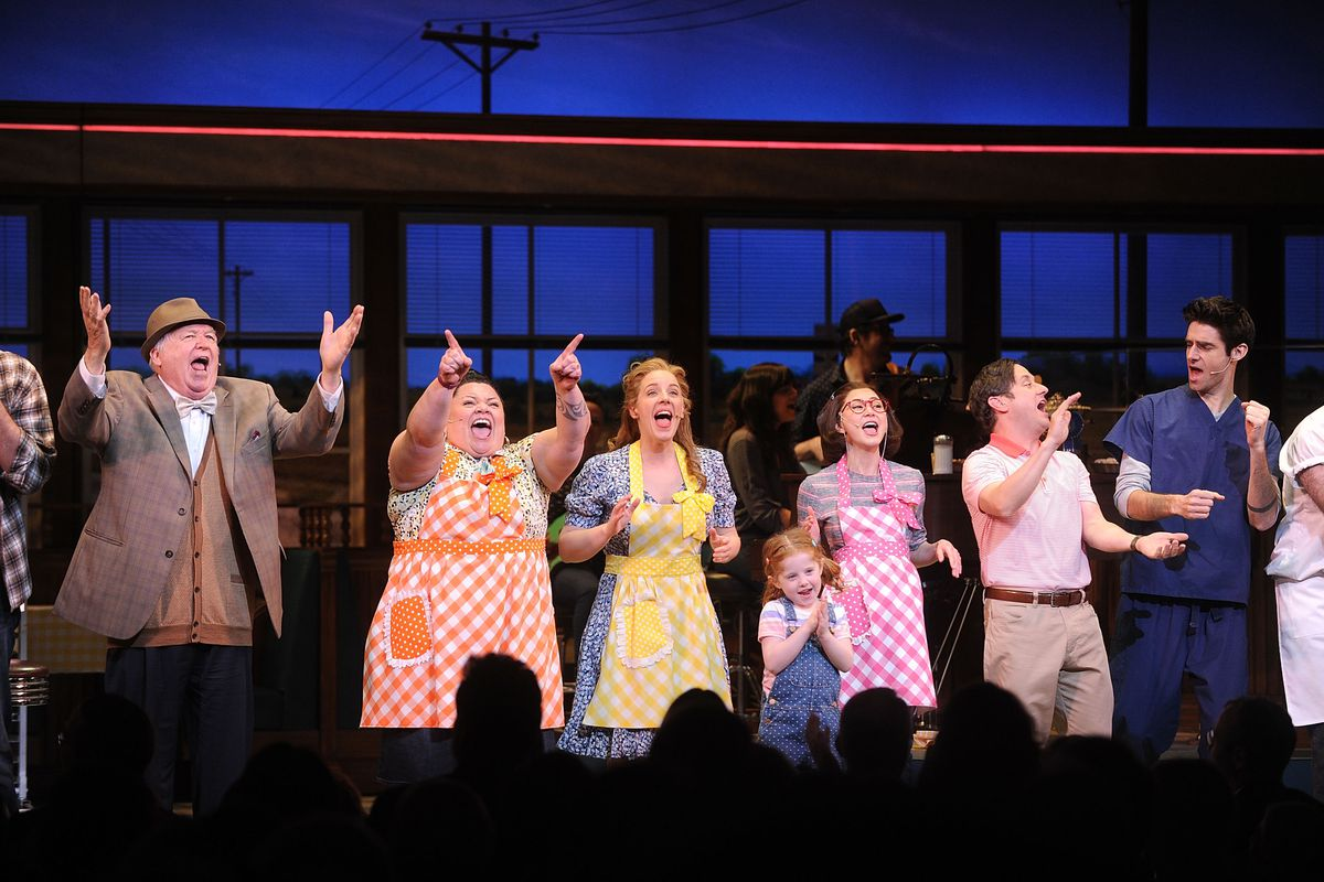 'Waitress' Broadway Opening Night - Arrival & Curtain Call