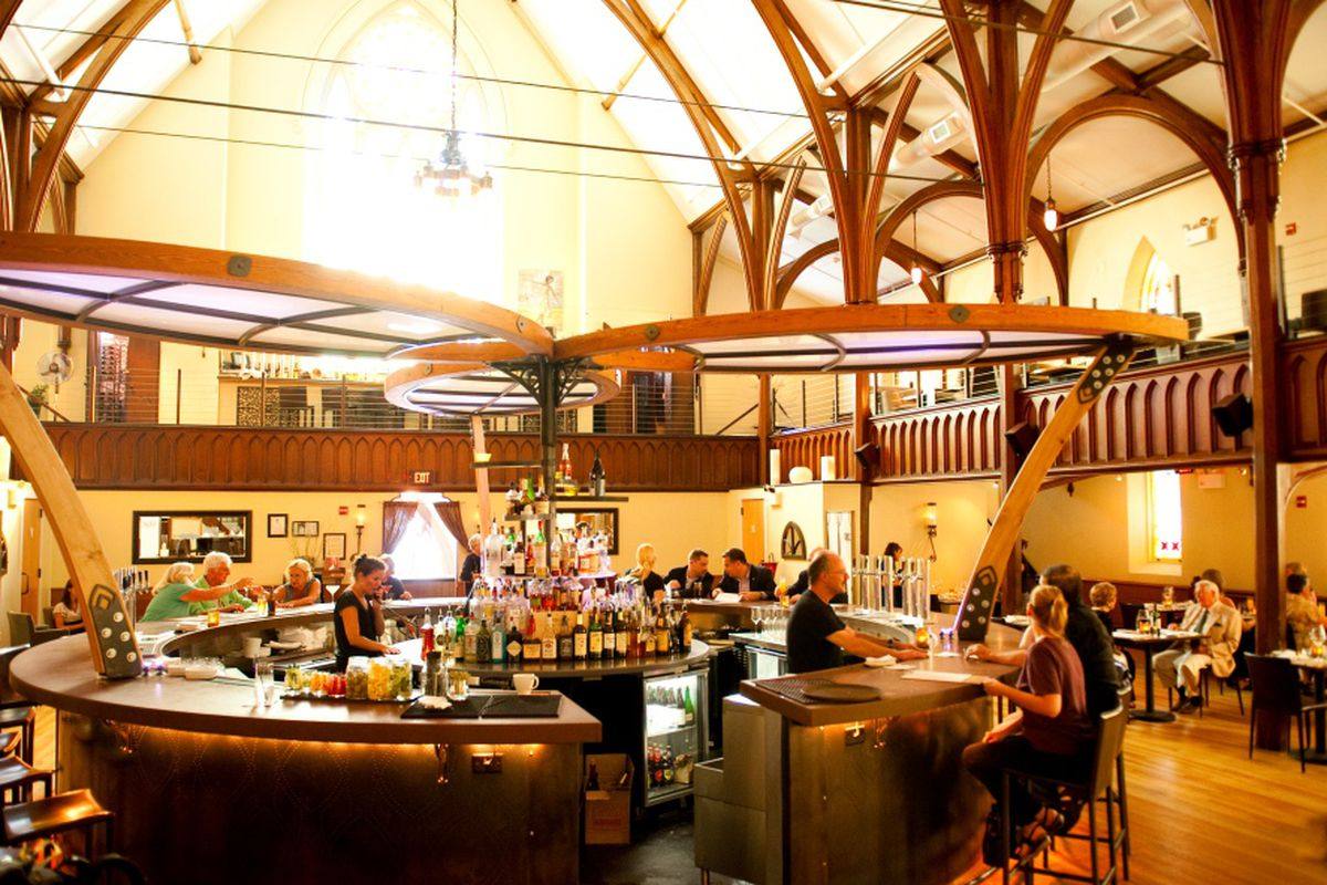 Housed in a historic church, Grace is one of the most striking restaurants in Portland.