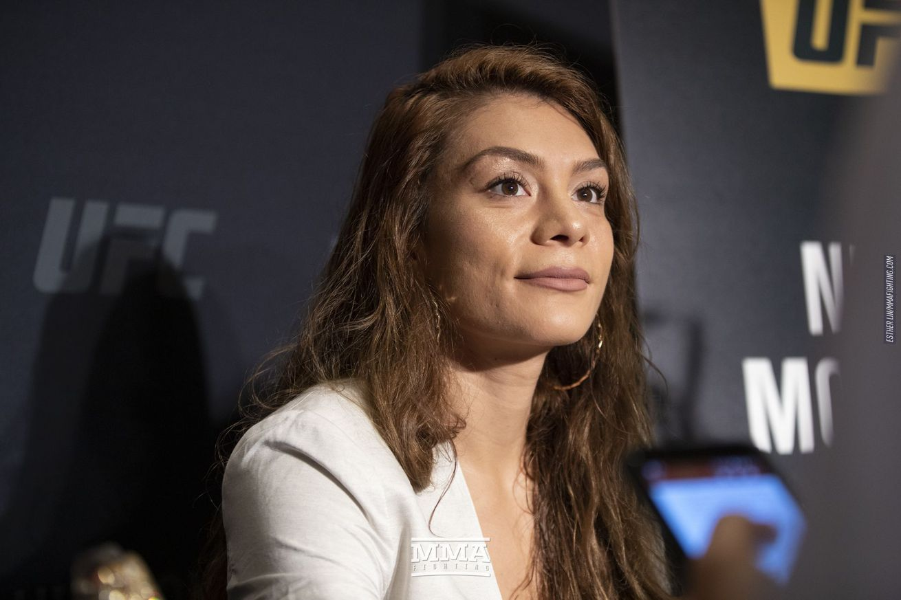 Nicco Montano (pictured) will fight Sara McMann in a bantamweight bout at UFC Sacramento on July 13