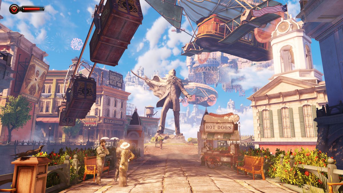 BioShock Infinite - stepping into Columbia