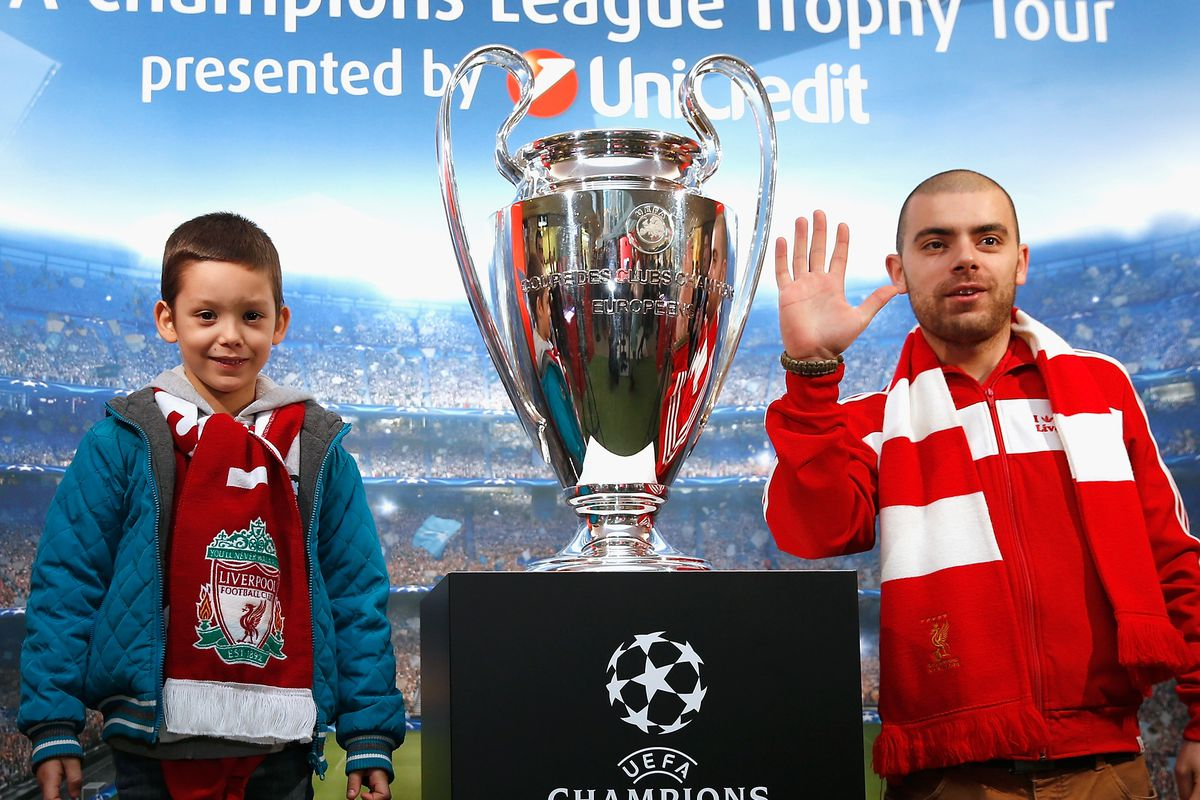 did you know Liverpool has won five European Cups? because I didn't