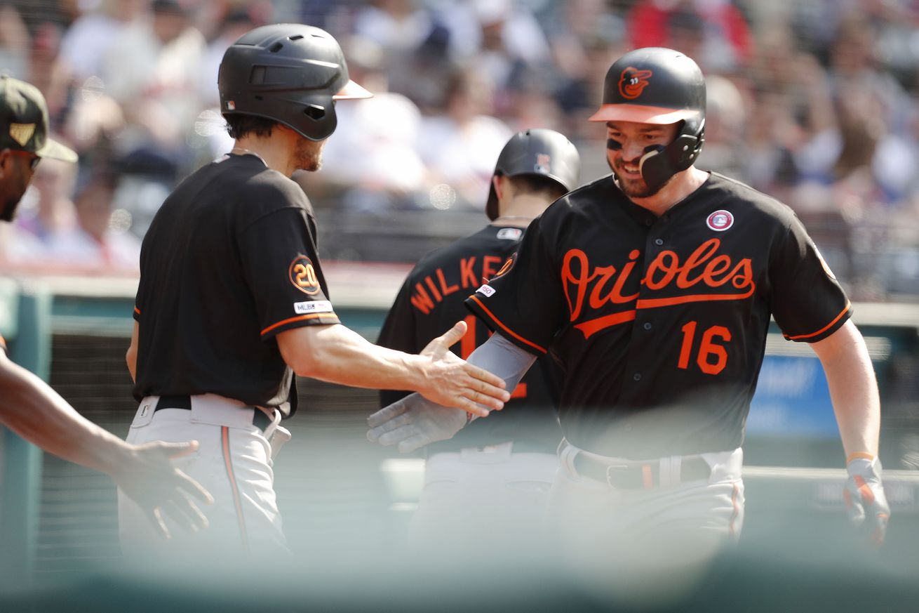 Sunday Bird Droppings: Where the Orioles were one hit.
