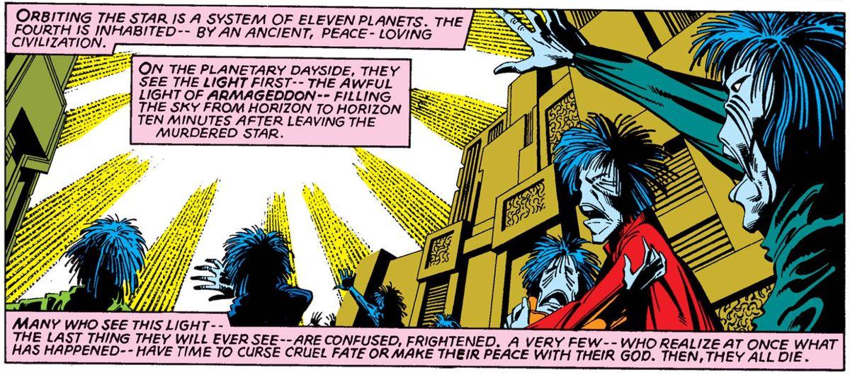 From Uncanny X-Men #135, Marvel Comics (1980).