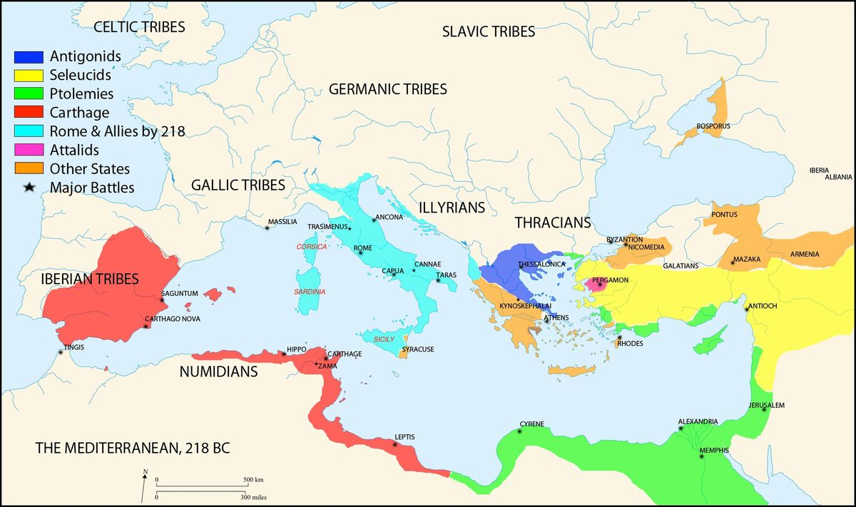 The Roman Empire, explained in 40 maps - Vox on
