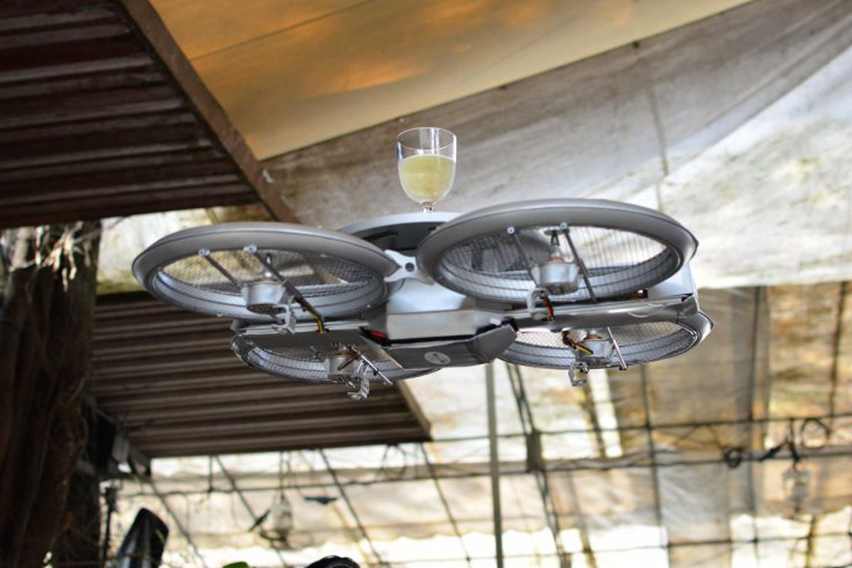 Terrifying Drones Replace Waiters At New Restaurant Eater