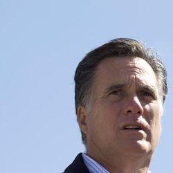Republican presidential candidate, former Massachusetts Gov. Mitt Romney  speaks in Tunkhannock, Pa., Thursday, April 5, 2012.