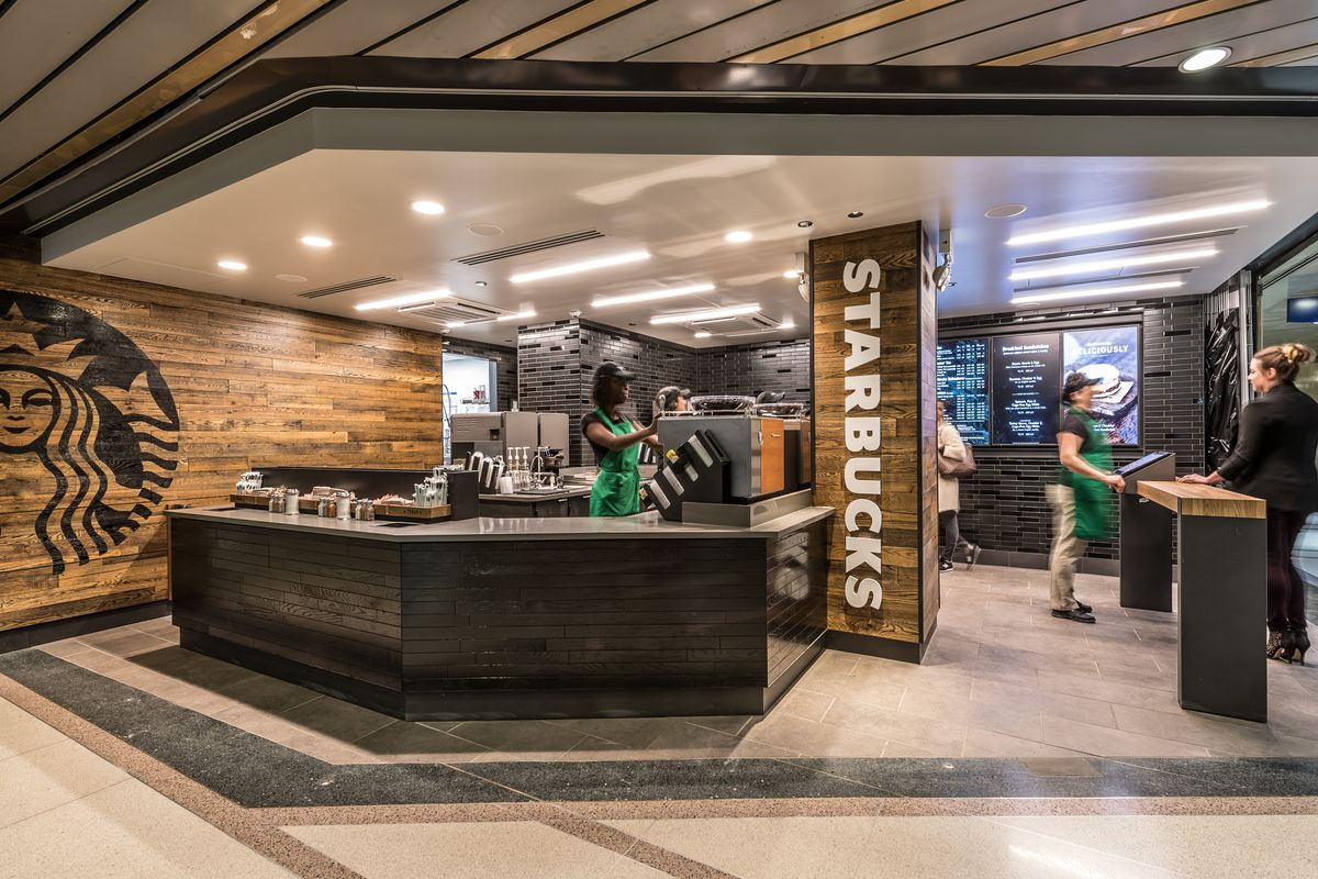 Starbucks Opens America S Fourth Express Concept In