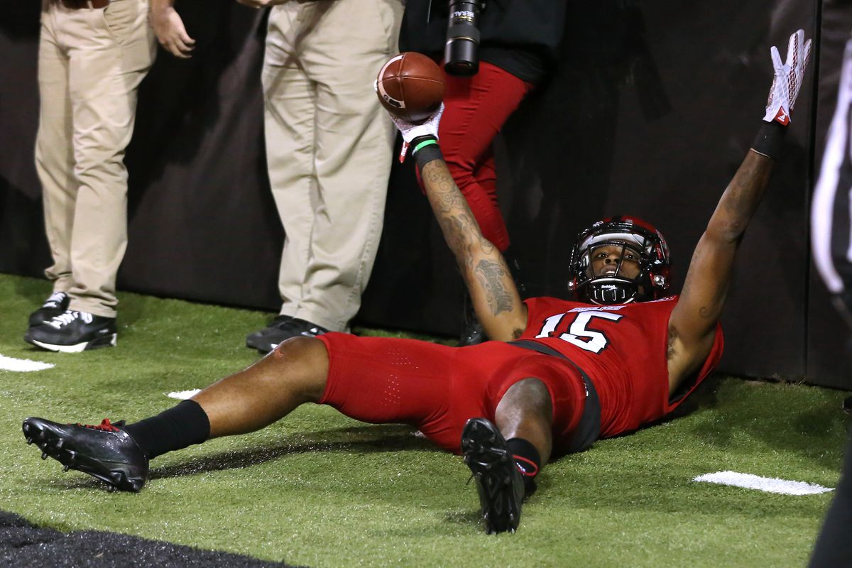 Tres Houston helped the Red Wolves deliver a perfect SBC season in 2015.