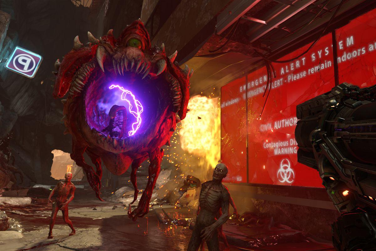 Doom Eternal Single Player Dlc Is Already Part Of The Plan Polygon