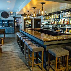 The bar inside Cape Dutch.