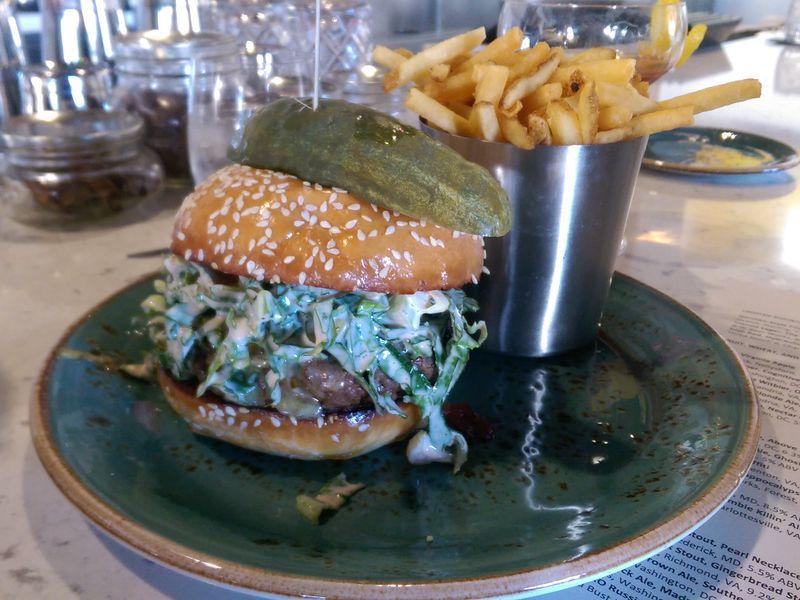 Brine's Burger [Photo: Missy Frederick]