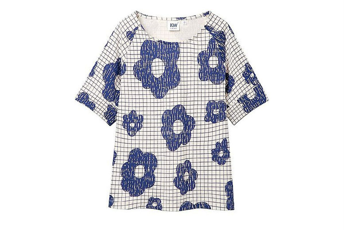 """Kid's tee via <a href=""""http://www.uniqlo.com/us/womens-clothing/collections/karen-walker"""">Uniqlo</a>"""