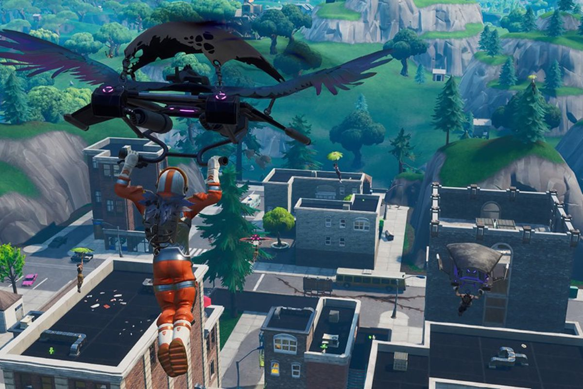 Something is very wrong with Fortnite's Tilted Towers - Polygon