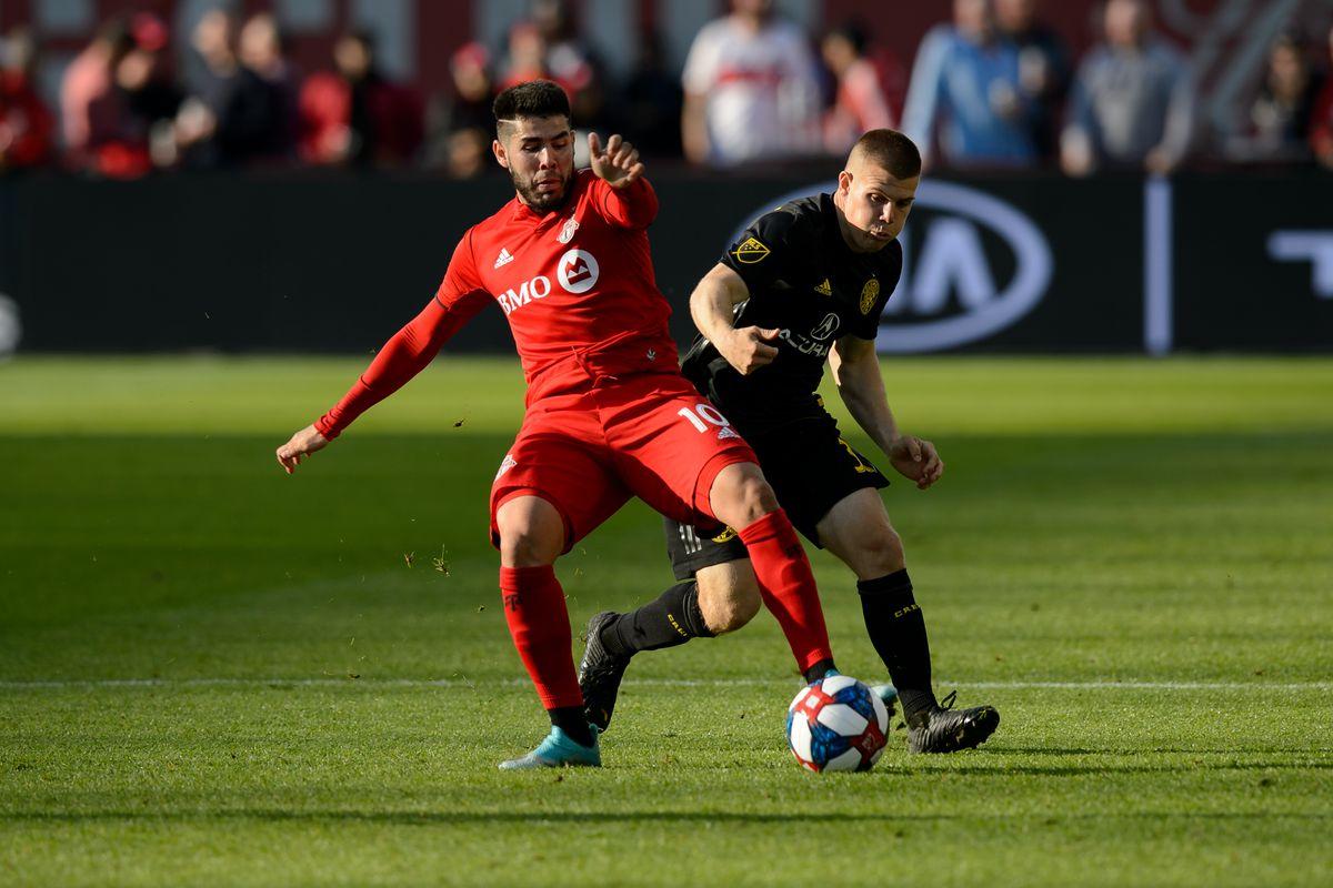 SOCCER: OCT 06 MLS - Columbus Crew SC at Toronto FC