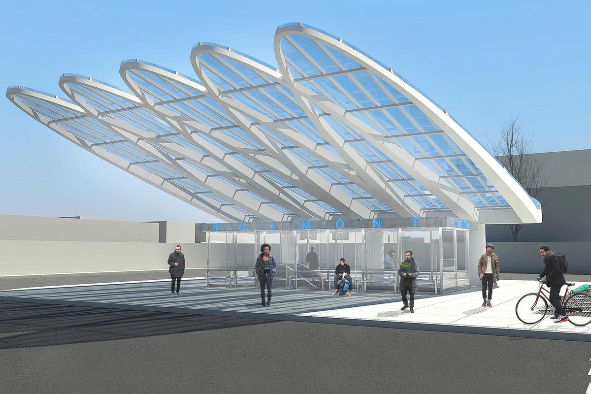 Construction update: CTA's 'Belmont Gateway' presses forward