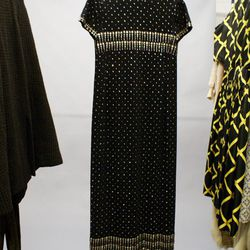 A bejeweled LBD from Bustown Modern that's headed to the ACA exhibit.