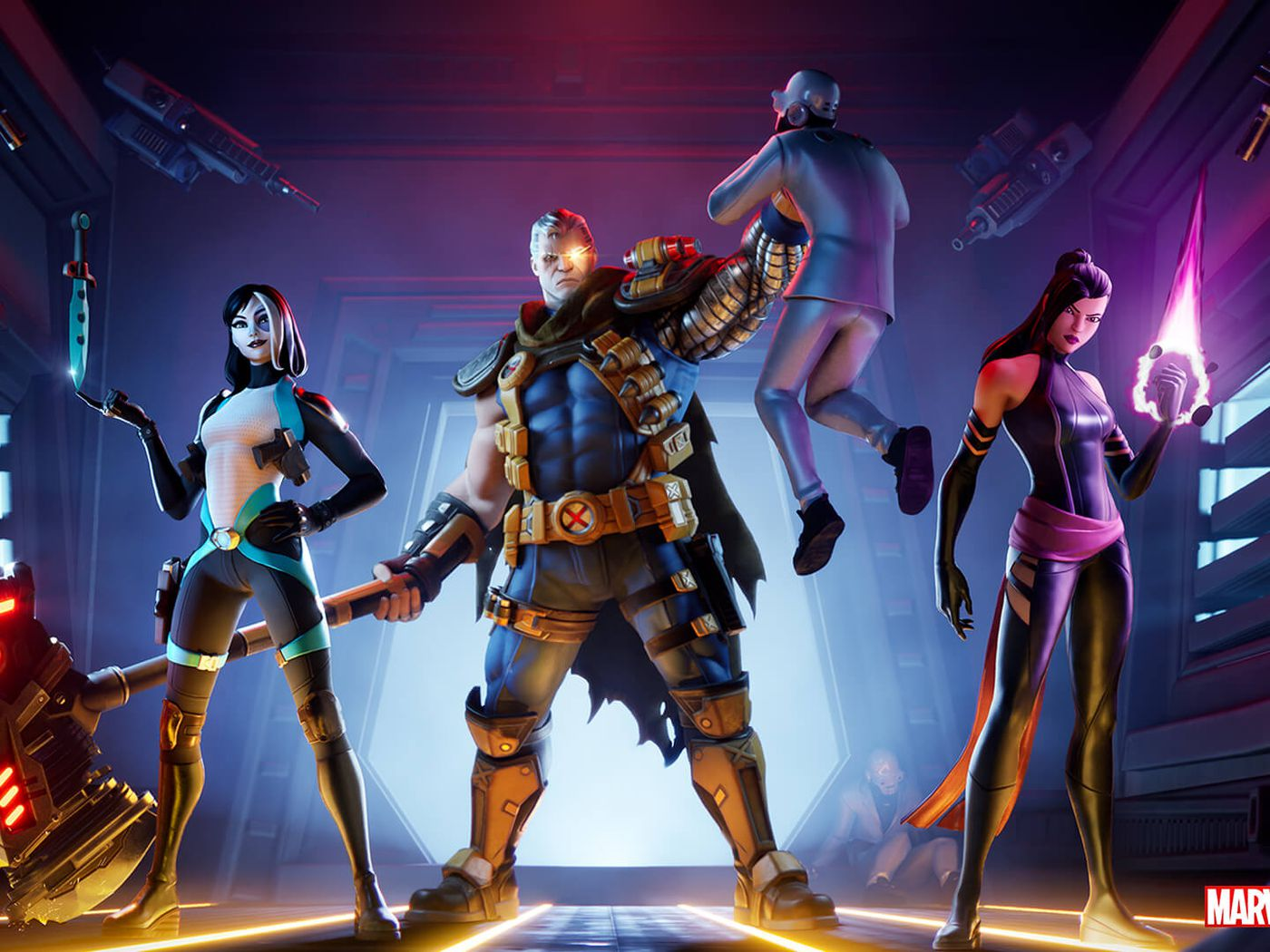 Fortnite Is Getting X Force Skins For Cable Psylocke And Domino Polygon