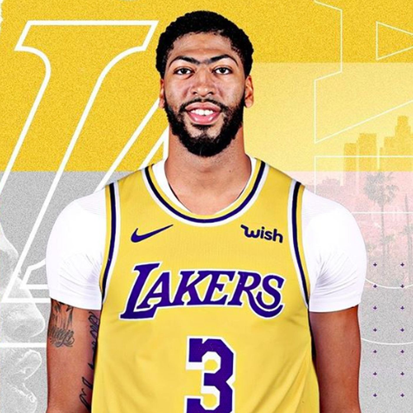 28b65b24 NBA Rumors: Anthony Davis to wear No. 3 jersey for Lakers next ...