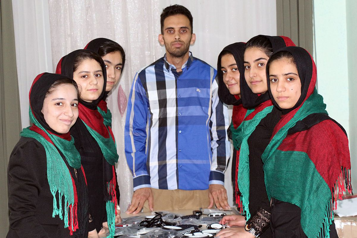 Afghan girls granted US visas for robotics competition after twice being denied