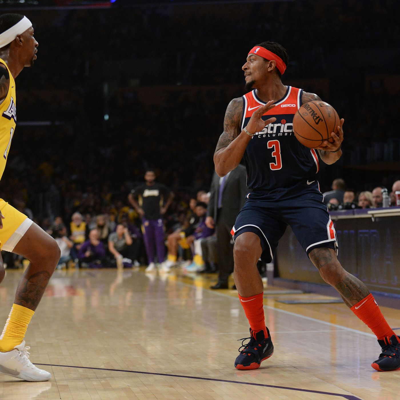 NBA preview: Wizards play Lakers on Monday - Bullets Forever