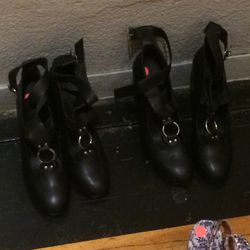 Boots, size 8, $100