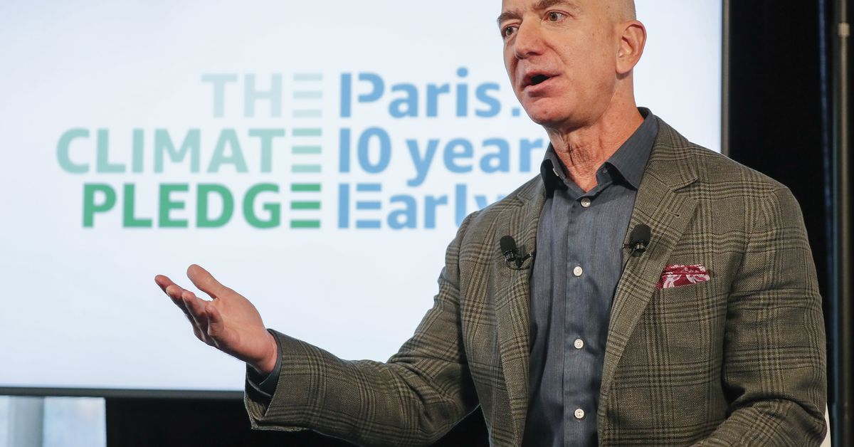 Jeff Bezos pledges that Amazon will swiftly combat climate change - The Verge