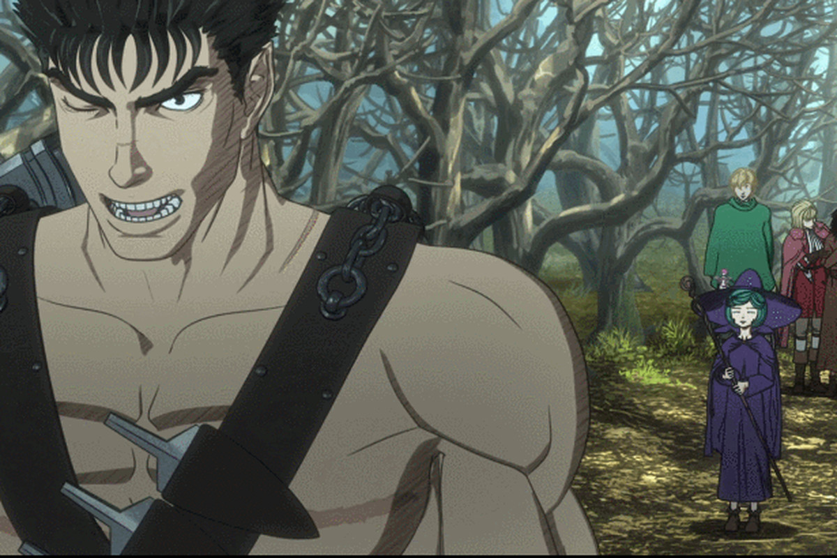 The Berserk anime is really, really ugly - Polygon