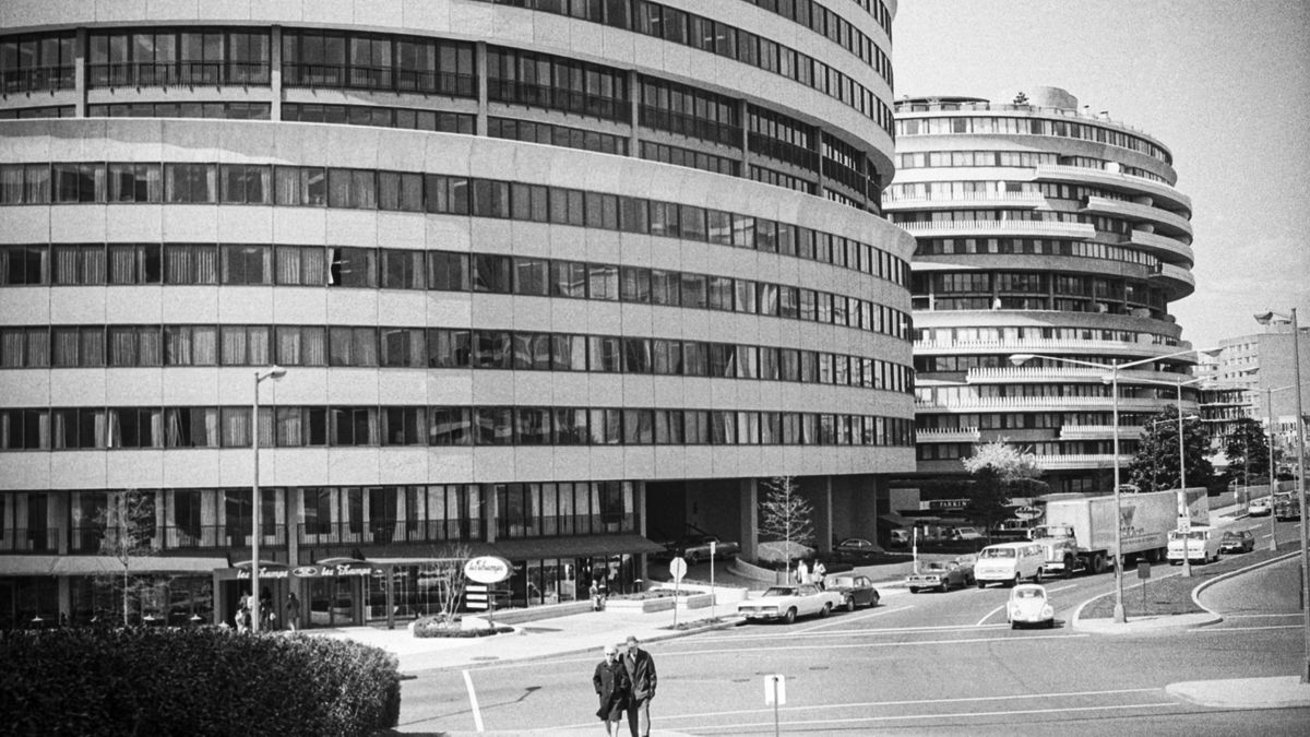 The Watergate Complex building.