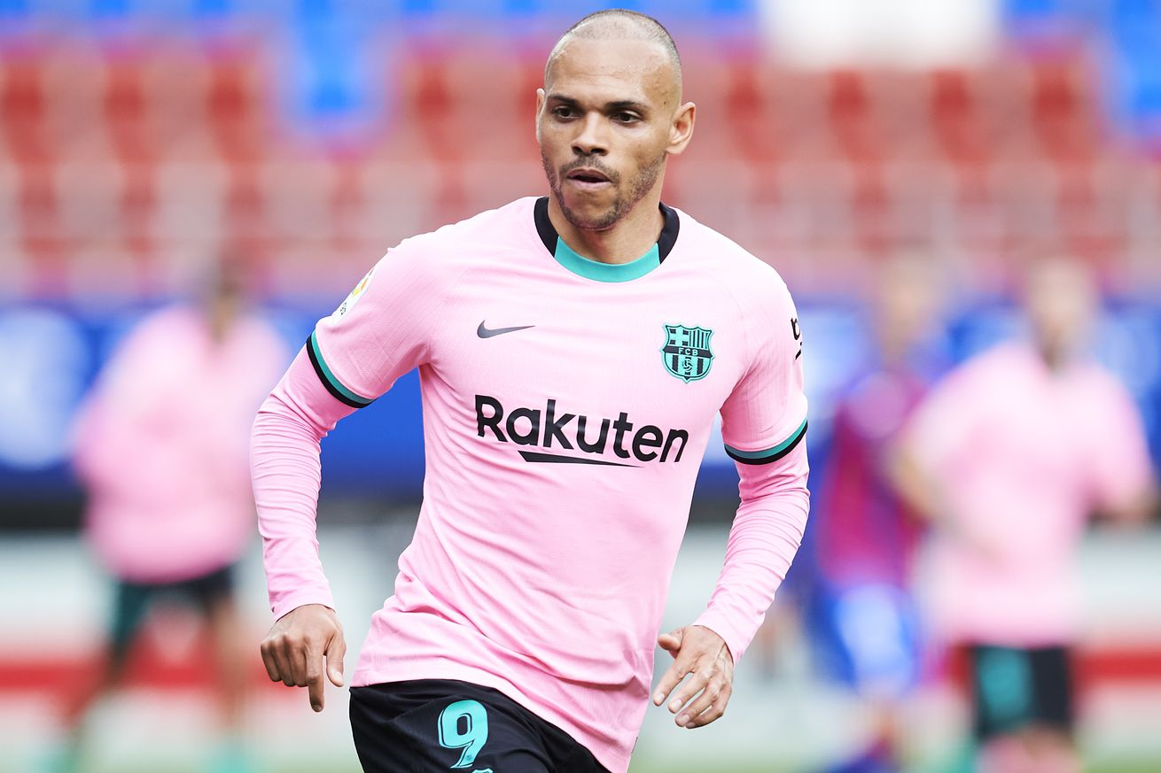 Braithwaite?s agent insists ?he will continue? at Barcelona