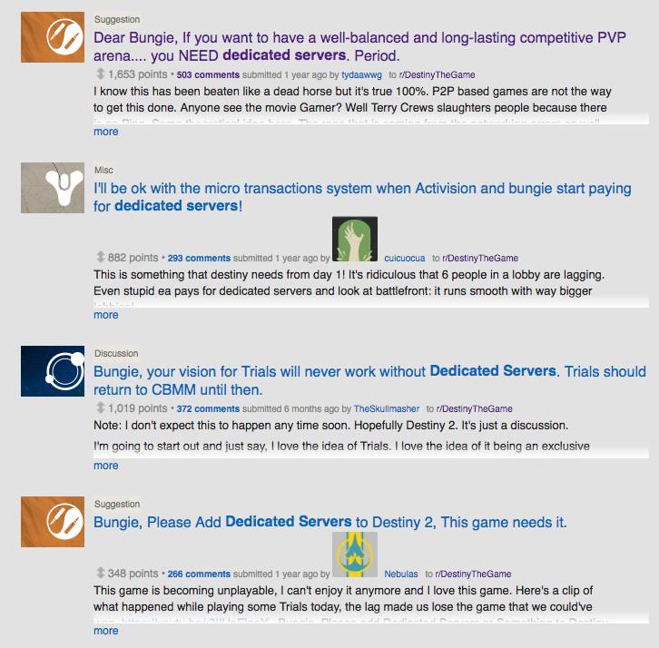 Destiny 2 won't have dedicated servers (update) - Polygon