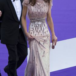 In Jenny Packham at the June 9th, 2011 ARK 10th Anniversary Gala Dinner.