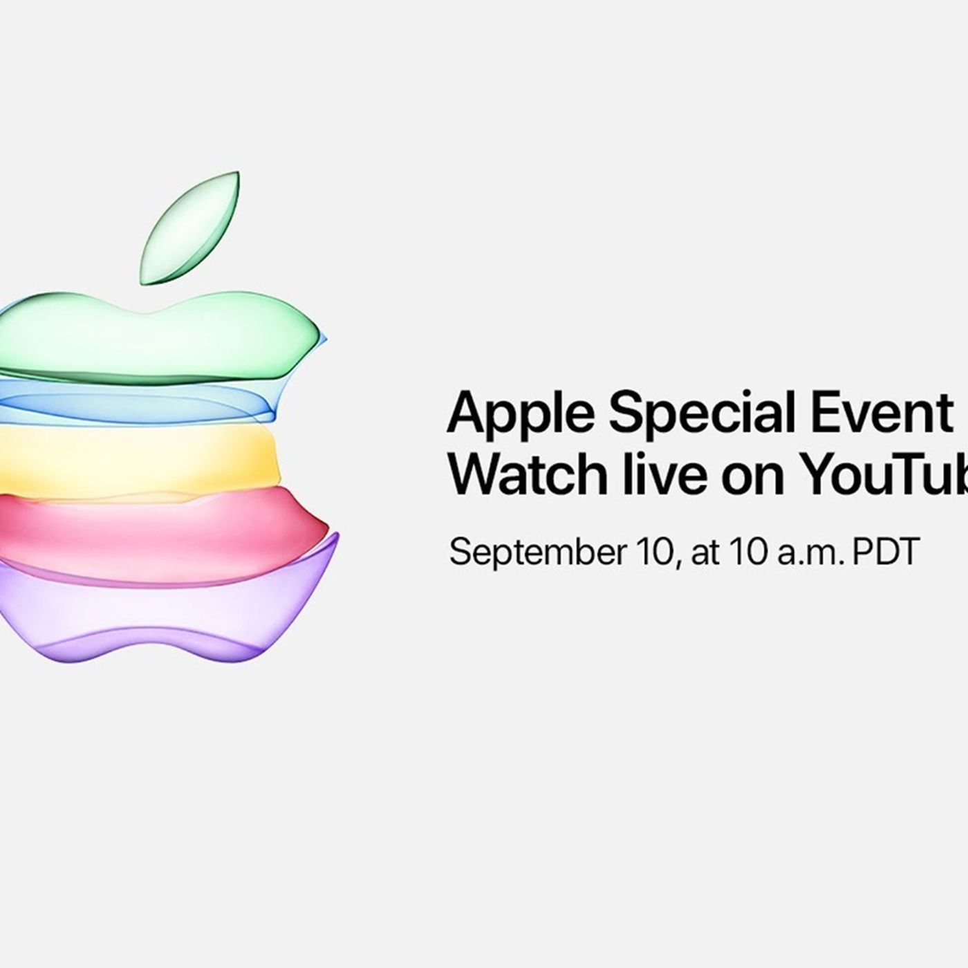 Image result for Apple will live stream its iPhone 11 event on YouTube for the first time