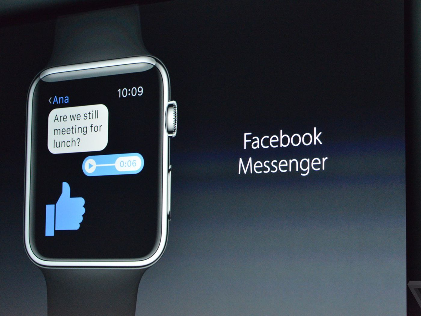 New Apple Watch apps include Facebook Messenger and GoPro