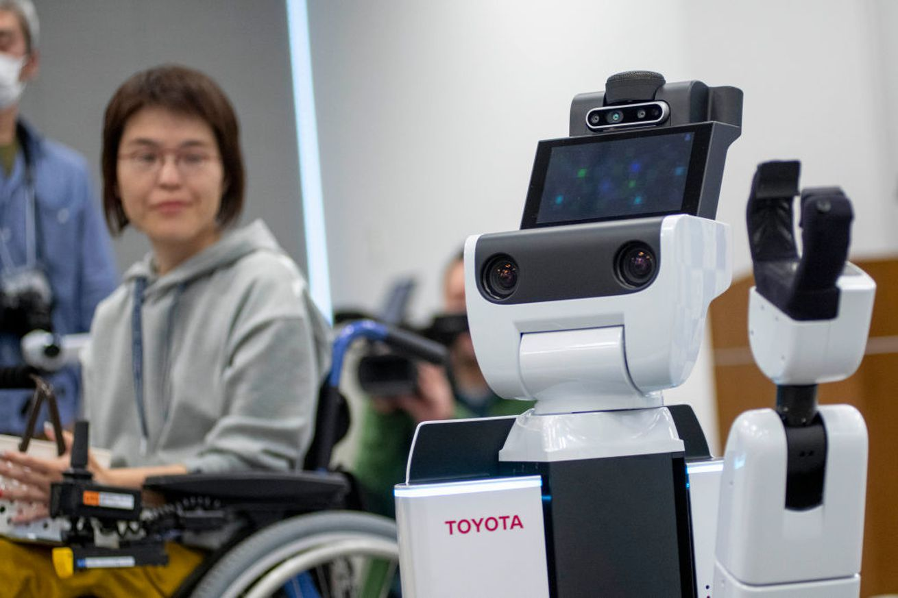 Toyota's Human Support Robot (HSR) will help spectators and staff members at the 2020 Tokyo games.