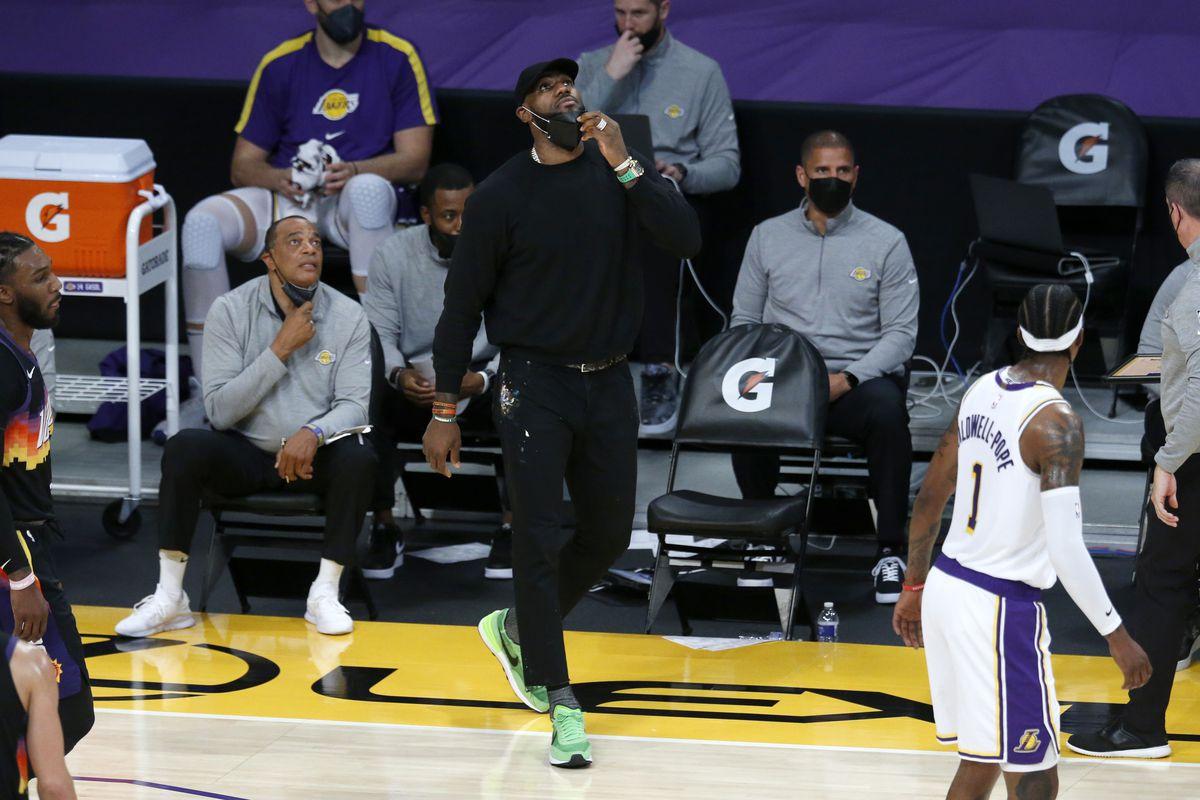 Phoenix Suns vs. Los Angelus Lakers at the Staples Center