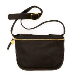 """Nothing's more annoying than a swinging purse ruining your ride. This hands-free pack will hold your essentials in style. <b>Clare Vivier</b> fannypack, $230 at <a href=""""http://www.clarevivier.com/collections/all/products/fannypack"""">Clare Vivier</a>."""