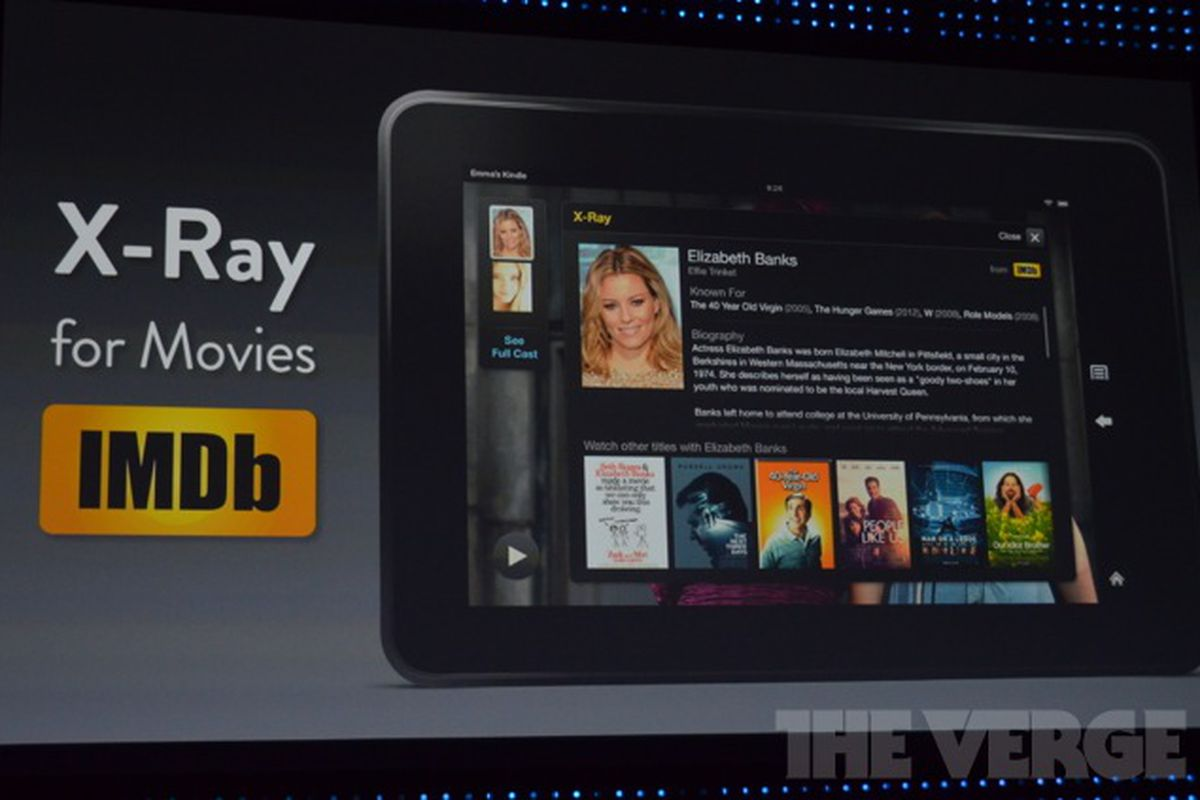 Amazon Kindle Fire OS updated with FreeTime custom profiles