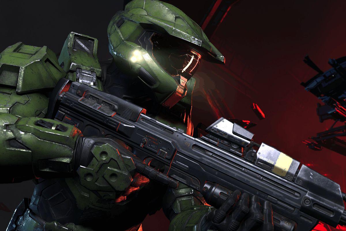 Master Chief in Halo Infinite