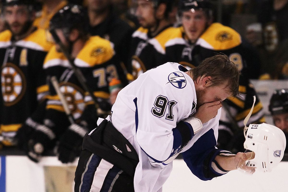 Ooops, sorry about that, Steven Stamkos! We hope all is forgiven?
