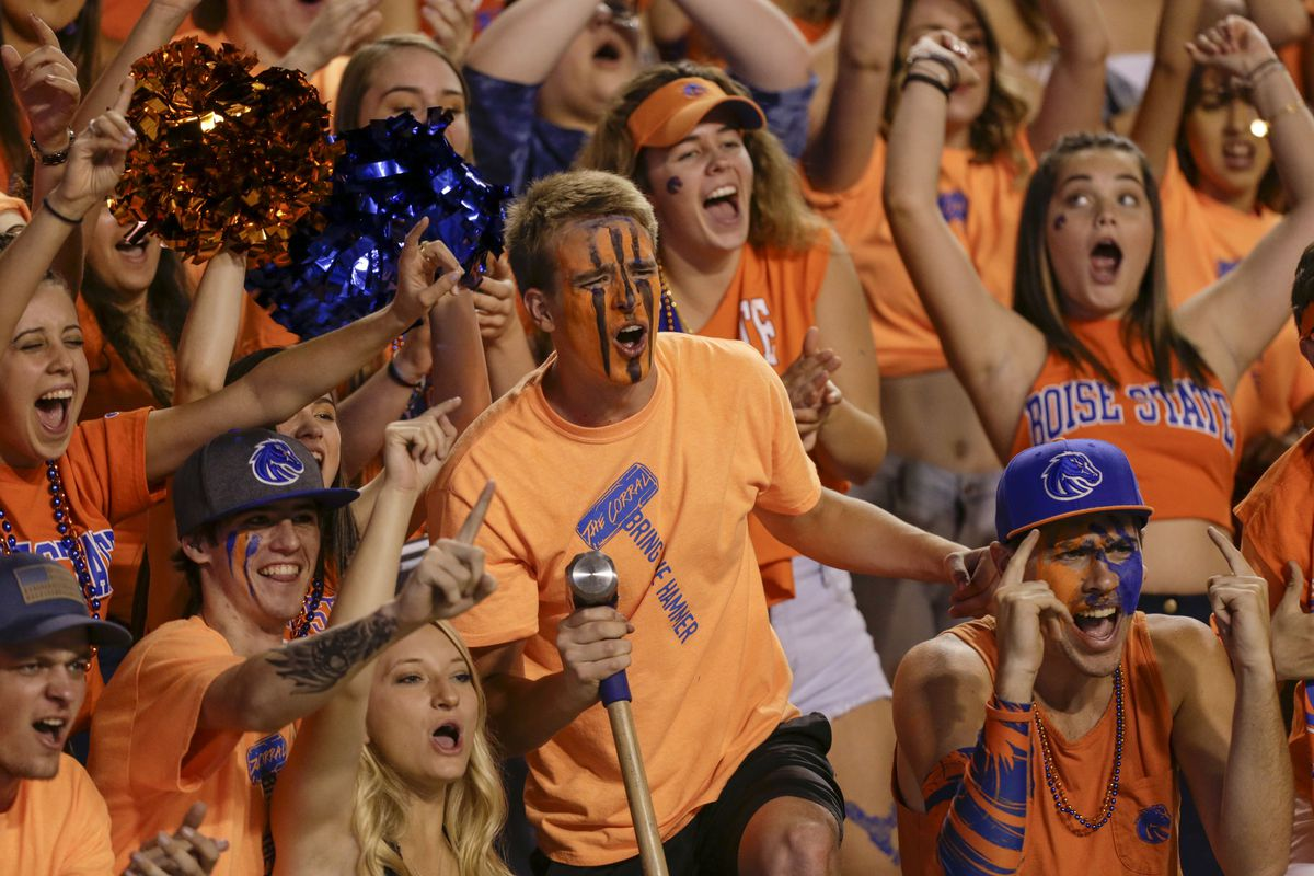 NCAA Football: Connecticut at Boise State