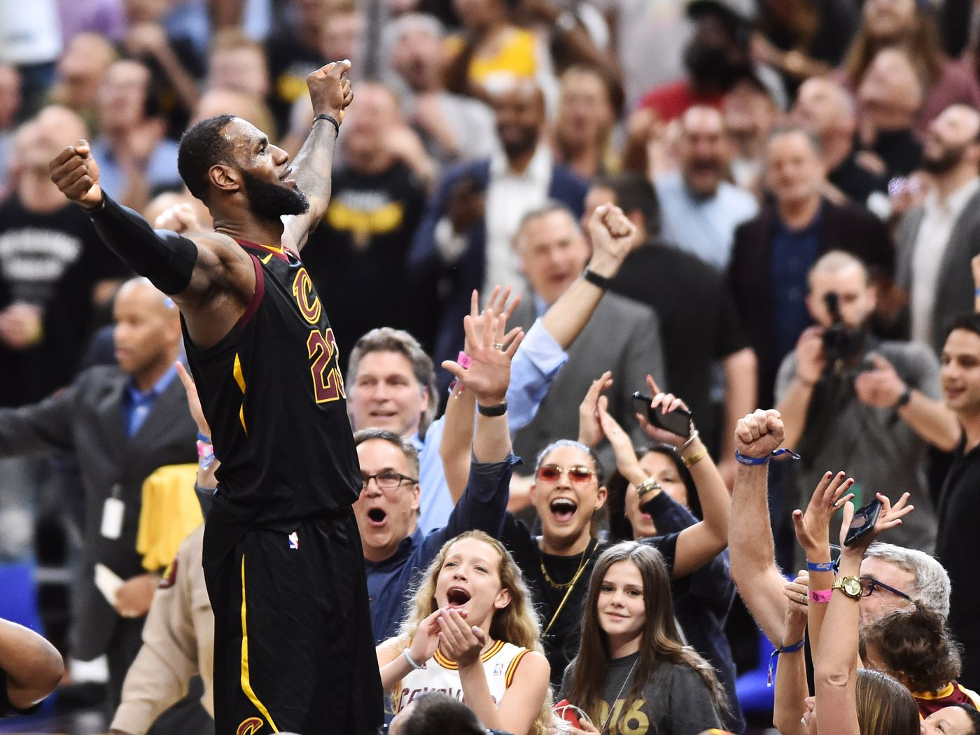 Lebron James Vs Toronto Raptors A Timeline Of Utter Domination Sbnation Com