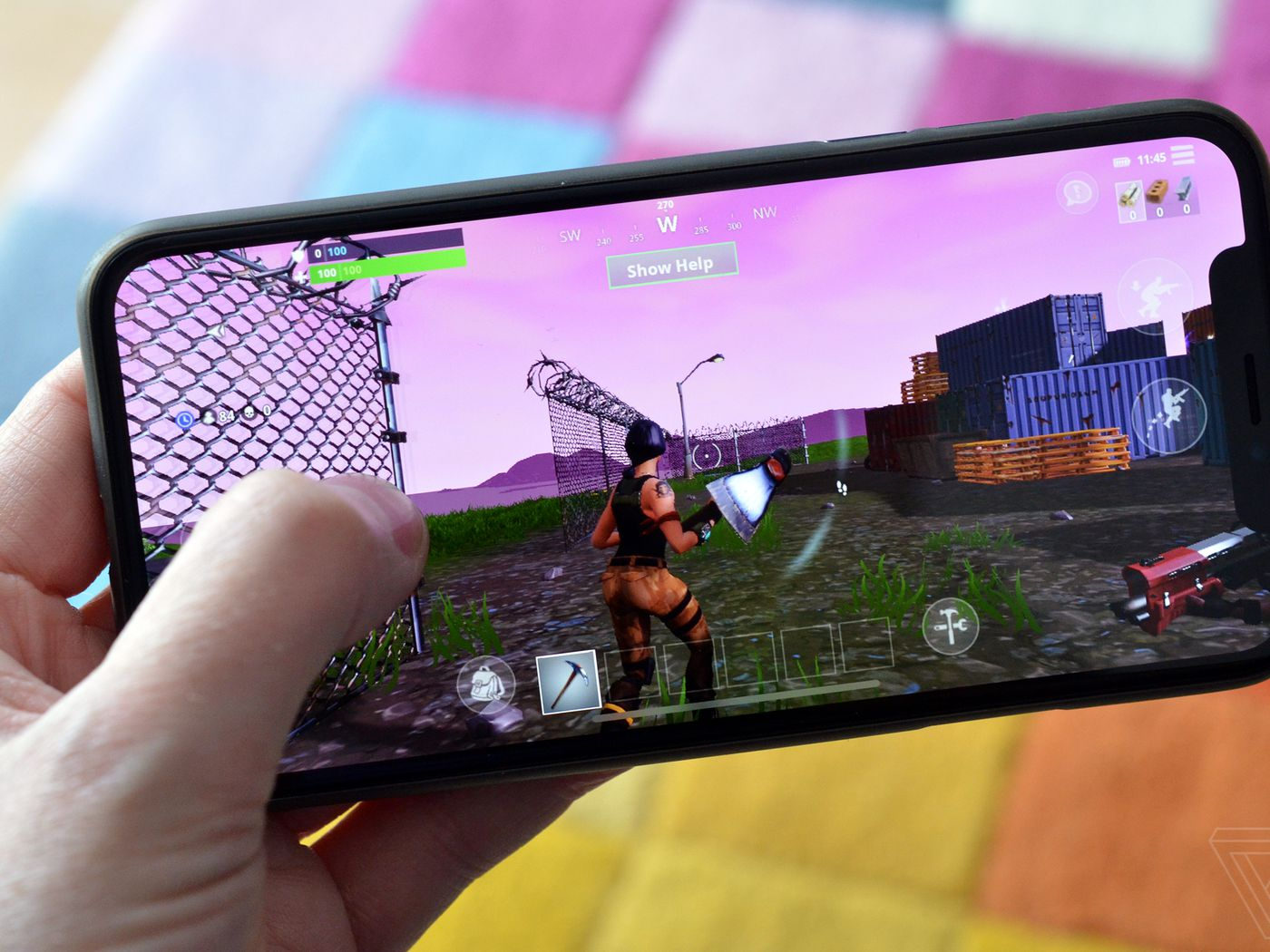 Fortnite Is Now Open To Everyone On Ios The Verge