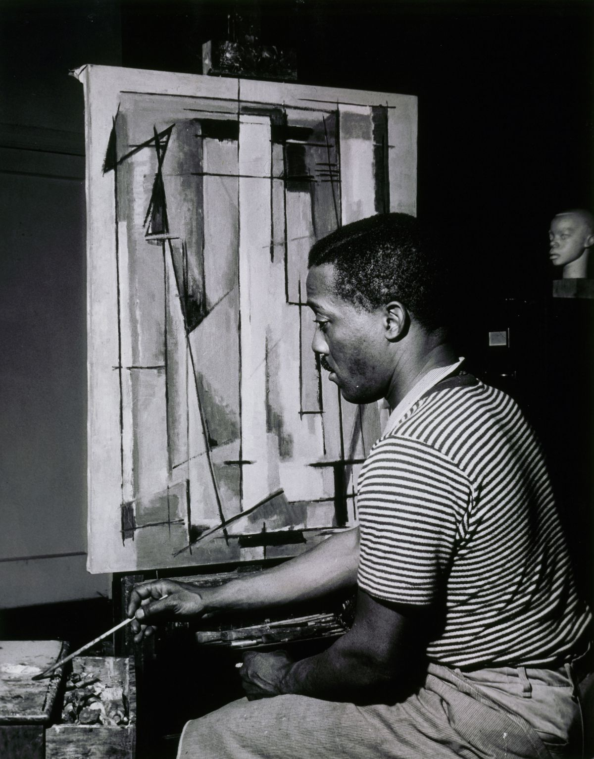 Norman Lewis at work. | Provided photo