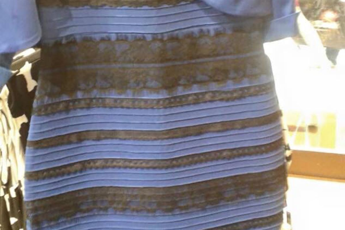 The Science Behind That Absurd Color Changing Dress Explained