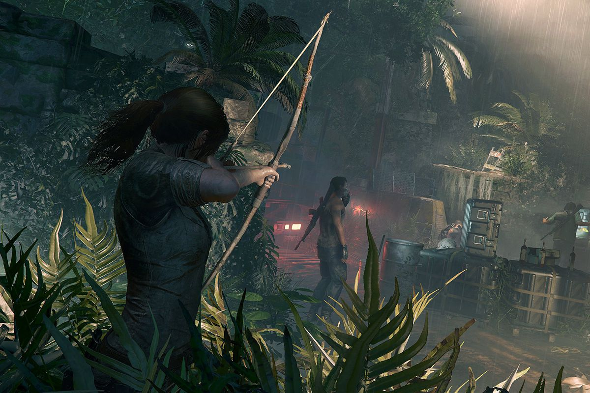 Shadow Of The Tomb Raider Challenges Lara Croft S Identity Polygon