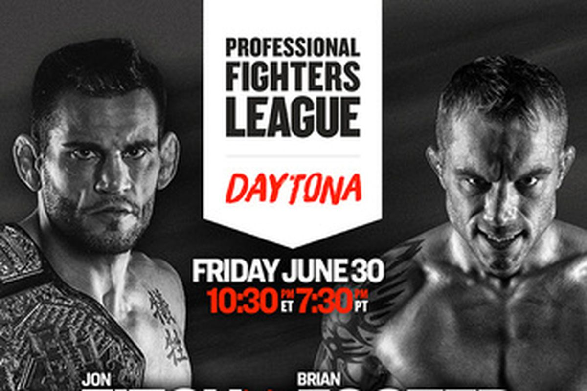 Professional Fighters League 5: Fitch vs. Foster fight card
