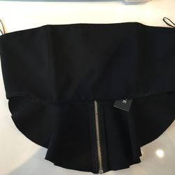 Nicholas flare crop bustier, $35 (from $260)